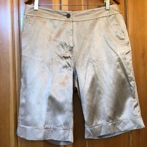 Chico silk walking shorts